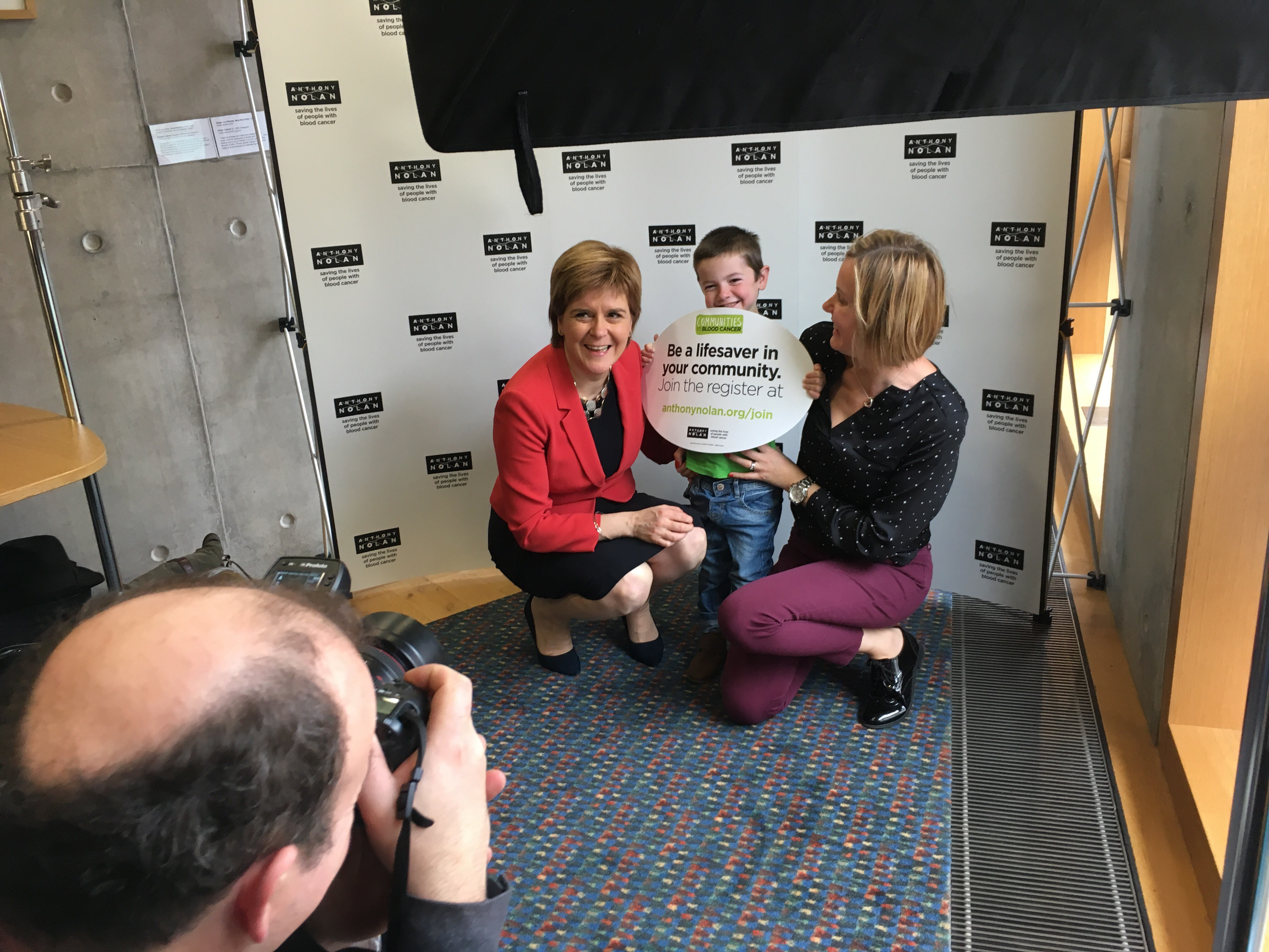 First Minister and Ollie