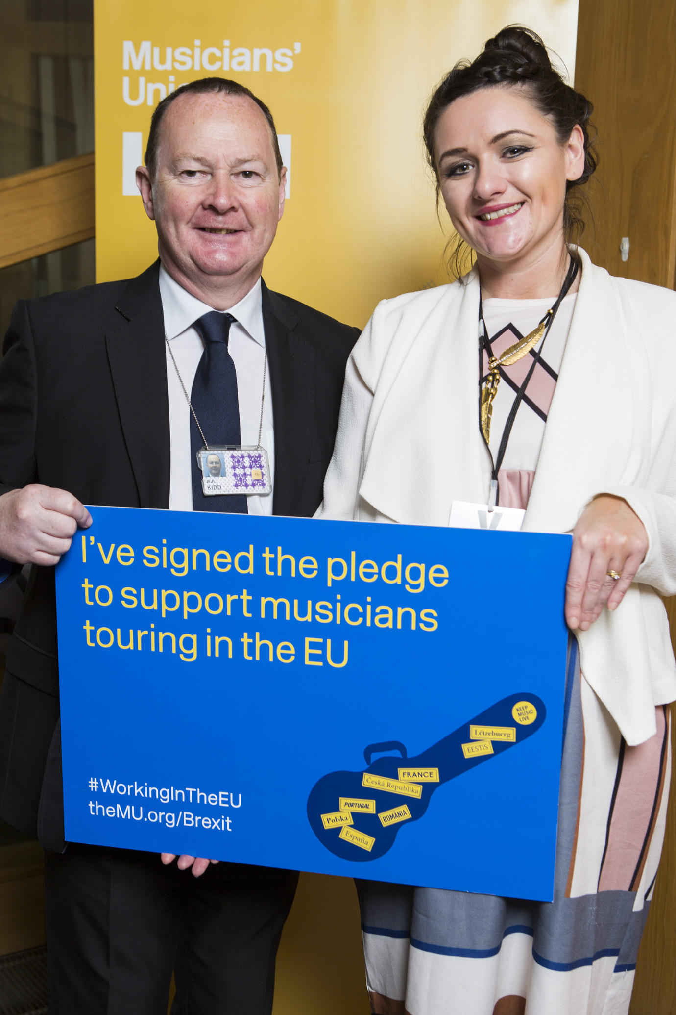 Music Union Brexit and Free Travel