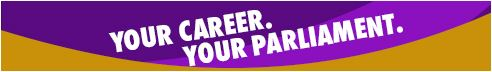 Parliament Careers Banner